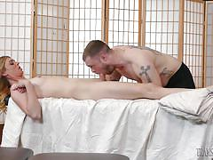 shemale, tranny, handjob, tattoo, deepthroat, massage, blonde, transsensual, mike panic, mandy mitchell