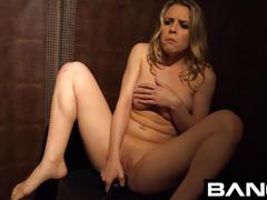 Bang confessions: aubrey threesome fuck in dressing room