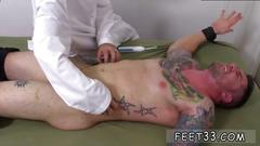 Gay hunk with a tattooed body needs some hard fucking