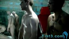 Fisting guy orgy and gay big swallow porn movie seth tyler kendoll mace get caught