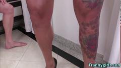 masturbation, big tits, tranny