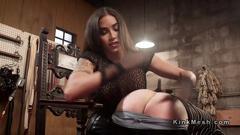 Tranny mistress spanking and anal fucking