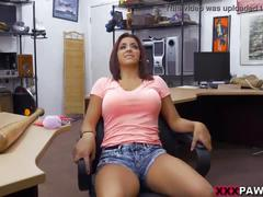 Home run audition in the xxx pawn shop