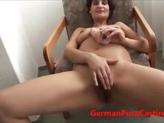 Shy german milf masturbates - germanporncasting.com