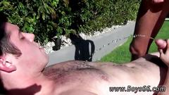 Amateur gay hunks are open for rimming and anal fucking