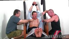 Toe sucking session with some guys that love kinky stuff