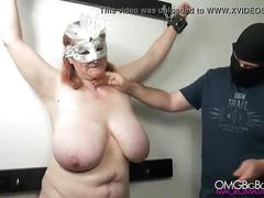 pussy, tits, amateur, bdsm, slave, russian, bbw, nipple, punishment, saggy, harsh, macromastia