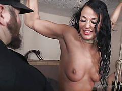 milf, orgasm, whip, bdsm, domination, vibrator, suspended, rope bondage, real time bondage, london river