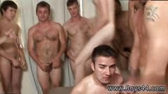 Amateur interracial gay session with some wild boys