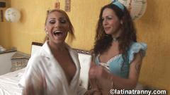 Nikki montero , she-males and females in sao paulo