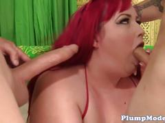 Ssbbw banged hard in threesome