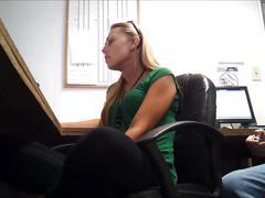 Old coworker teasing me in spandex