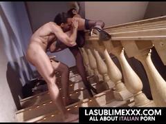 brunette, whore, escort, italian, vintage, anal-sex, full-scene, porno-italiano, italian-porn, la-sublime, la-sublime-xxx, freeitalianporn