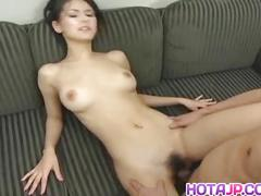 Naughty tokyo babe maria ozawa gets pussy licked and banged hard in cosplay