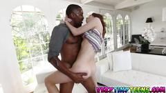 Hot teen alina west and a lucky black dude