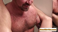 bear, toys, blowjob, cum, toy, piercing
