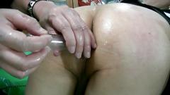 Hentai mature jyosouko fujiko horny anal training 2
