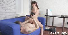 Tricky agent slams a teen hard video