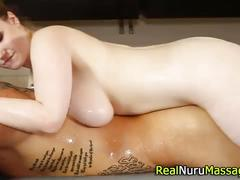 Ginger nuru masseuse fuck