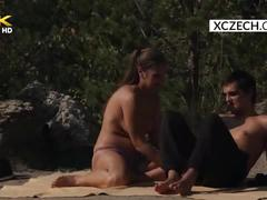 Teen couple is fucking outdoor and voyeur watching them - xczech.com