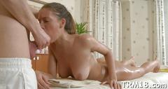 Sensual massage with cock riding video segment 1