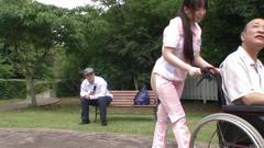 ass, japanese, public, bizarre, butt, asian, outdoors