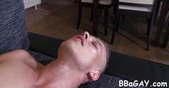 Salacious anal drilling with studs clip