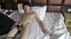Bigcock straightboy handjob audition