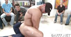 His ass fucked by stripper film feature 1