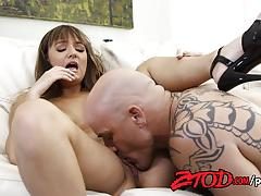 Charlotte cross gets her pussy licked and banged