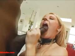 Blacksruinblondes.com nasty blond porn whores takes monster cocl in mouth pussy