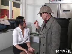 German anal cheating secretary