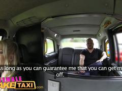 Female fake taxi hot milf cabbie fucks lawyer cock