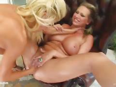 Fist flush presents clara g and mandy bright in a lesbian fisting scene