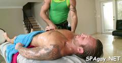Raunchy massage session blowjob hardcore 3