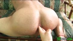 Amateur latino fingered