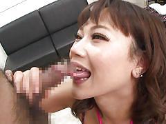 Busty asian hibiki hoshino seduces coworker