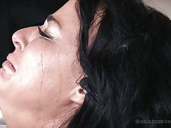 milf, torture, pantyhose, brunette, natural tits, scissor, shackles, executors, device bondage, stitch, real time bondage, london river