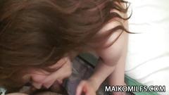Yuriko hoshino - busty jav milf pussy eaten and creampied