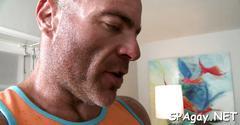 Blowjob from gay masseur hard