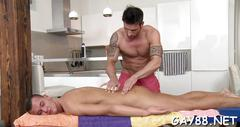 Massaging throat with cock blowjob video 1