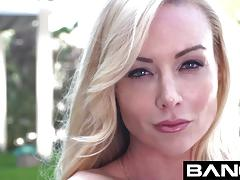Bang gonzo kayden kross wraps sweet lips around cock