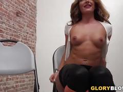 Savannah fox bbc anal - glory hole