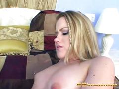 Skinny blonde slut horny for big black dick interracial fuck