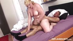 Chubby milf loves cock