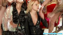 Assfucked eurobabe sophie lynx cumswaps