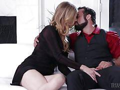 shemale, anal sex, big penis, boobs licking, deepthroat, blonde, tattooed, transsensual, mandy mitchell, jaxton wheeler