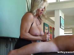 Wifey gets jack hammered by contractor