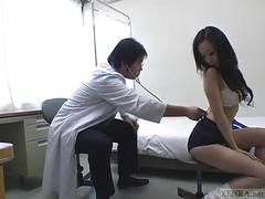 Subtitled cmnf japanese schoolgirls group medical exam