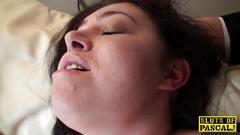 British bbw masturbating for stranger